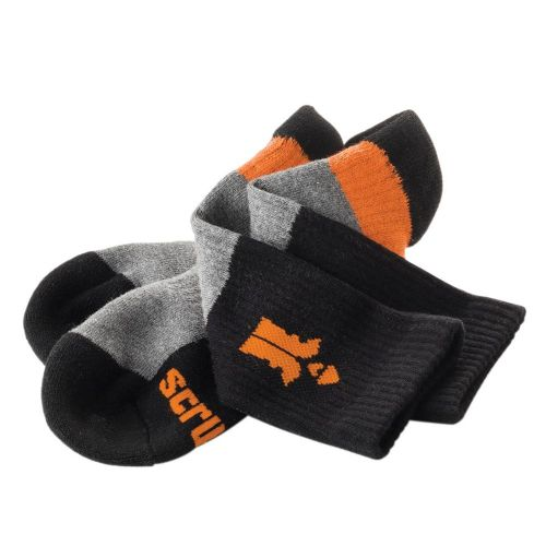 Scruffs T53547 Trade Socks Size 7-9.5 3 Pack